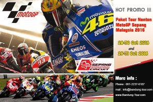 Paket Nonton MotoGP Sepang & Tour malaysia