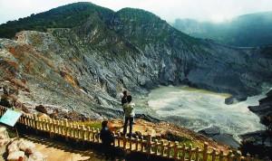 Gunung Tangkuban Perahu Lembang Bandung
