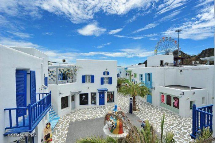 paket-wisata-thailad-Santorini-Park