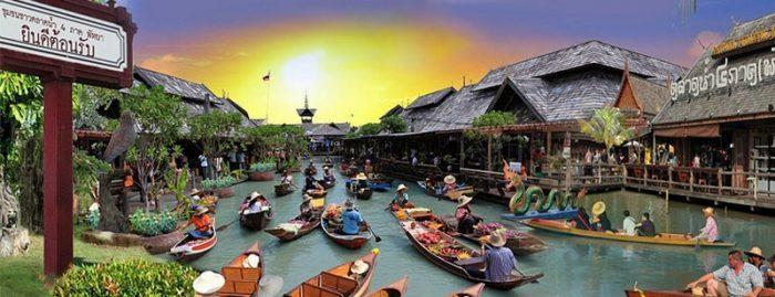 paket-wisata-thailand-bangkok-Pattaya-Floating-Markets