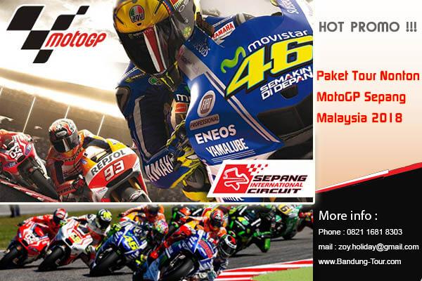 Paket Tour Nonton MotoGP Sepang Malaysia 2018