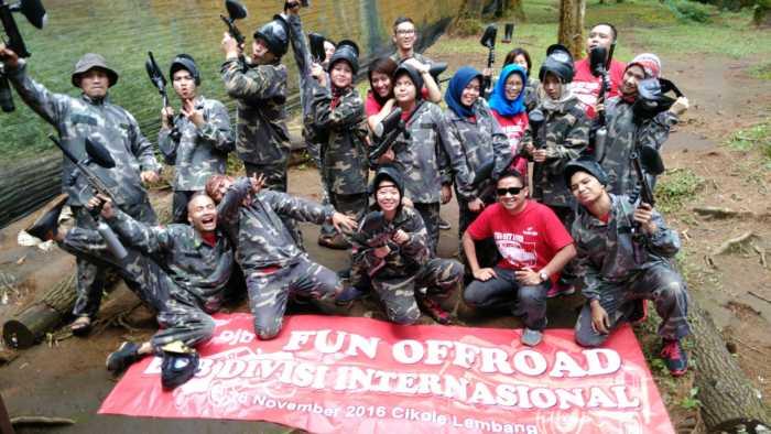 Paket Wisata Family Gathering dan Outbound Program 2d1n Bandung