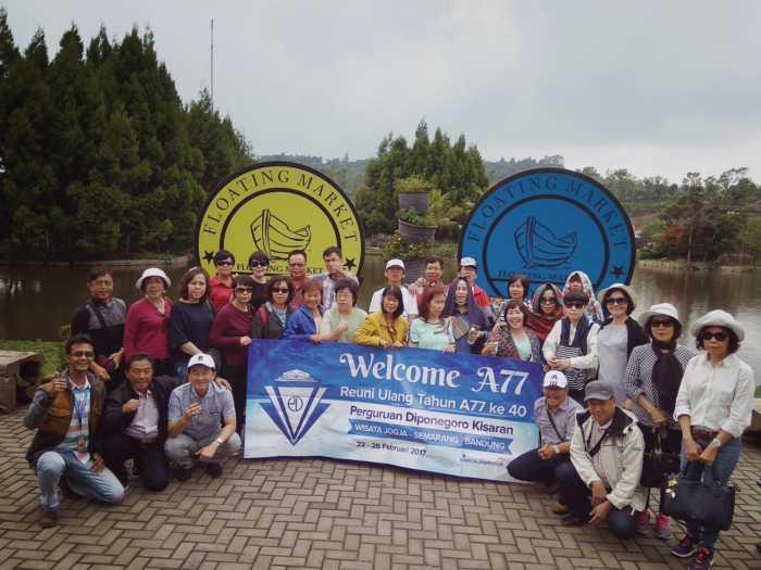 Family Gathering Wisata Lembang Bandung