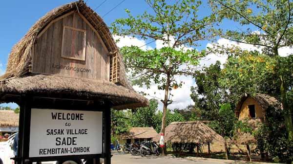 Rambitan Desa adat suku sasak