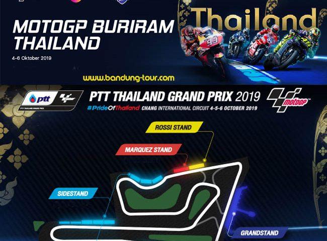 Paket Nonton MotoGP Buriram Thailand 2019