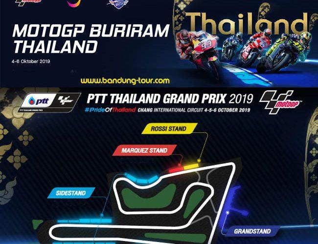 Paket Nonton Motogp Buriram Thailand 2019 Info Paket 082116818303
